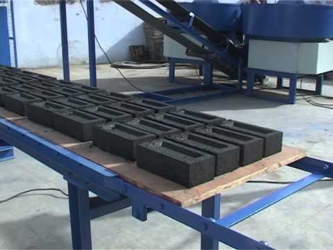 Fully Automatic Fly - Ash Bricks Machine