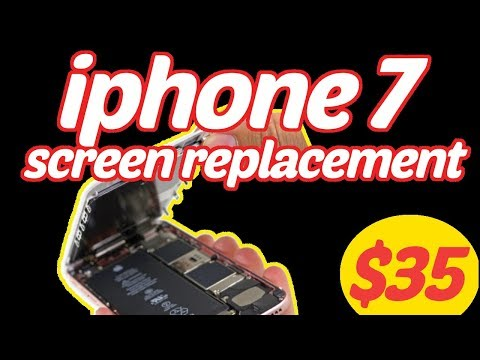 iPhone 7 Screen Replacement. Under $35. Full guide.