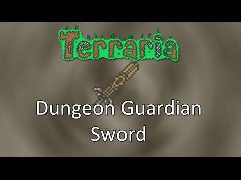 Terraria: Reborn Mod — Dungeon Guardian Sword!