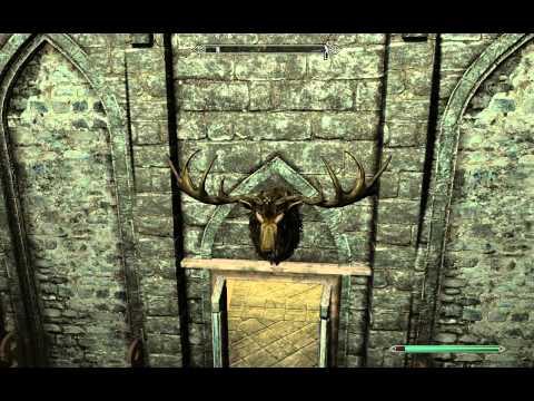Unusual Gem 13 of 24 - Dragonsreach Jarl's Quarters - Stone of Barenziah - Elder Scrolls 5 Skyrim