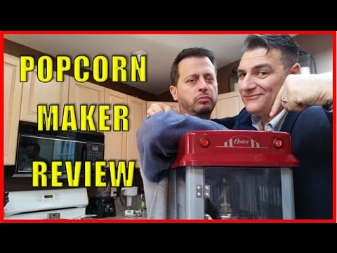 POPCORN MAKER WITH BILLY MIRA - KITCHEN GADGET REVIEW: Big Meals, Small Places