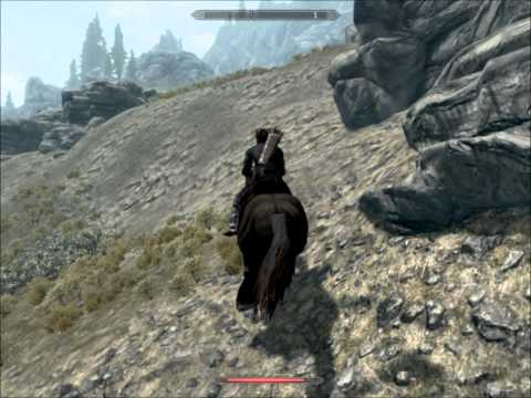 Skyrim-Shadowmere Dismount Glitch