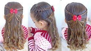 Penteado Infantil Asas de Borboleta com Tranças