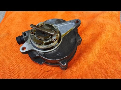 Fixing leaking Vacuum Pump on Volvo 6 cylinder 3.2 and T6 engines.