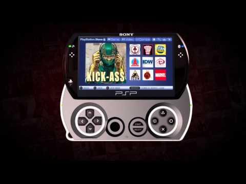 PSP Playstation Portable Digital Comics Trailer (2010)
