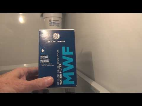 How to Change your GE Refrigerator Water Filter