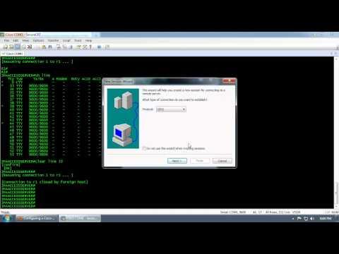 Configuring a Cisco Access Server