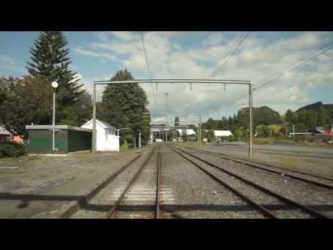 New Zealand 2012   Tranz Scenic Overlander   Wellington to Auckland