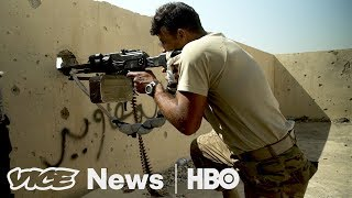 Iraqi Forces Take Back al-Nuri Mosque (HBO)