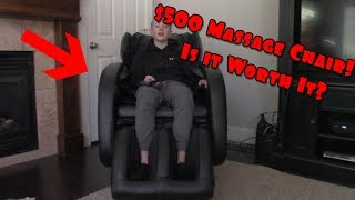 $500 Massage Chair!! Is it Worth it?