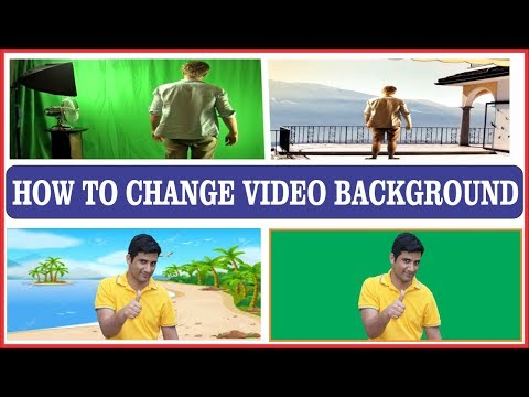 How to Change Video Background By Using Adobe Premier Pro 2018