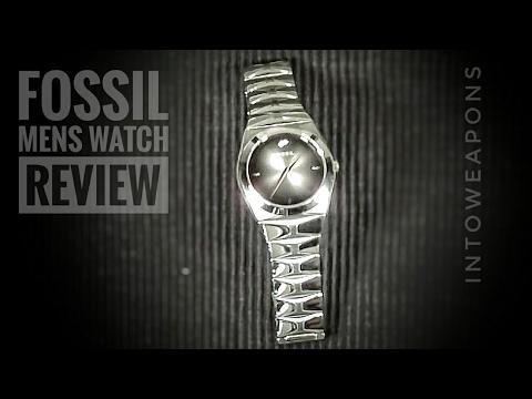 Fossil Men's Watch Review:  Fossil Arkitekt Stainless Steel Watch