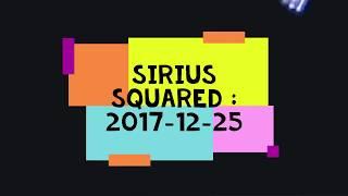 "Sirius ""Squared"" : TOUCH 2017-12-25 Nikon Coolpix P900"