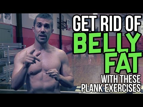Get Rid of Belly Fat with these Plank Exercises