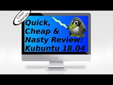 Kubuntu 18.04 - Review for You