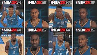 NBA 2k15 vs NBA 2k14 Videos - 9tube tv
