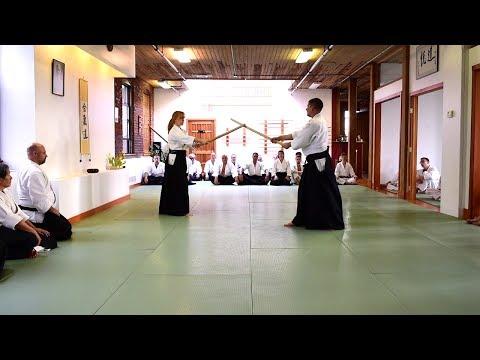 Aikido Kumitachi Demonstration