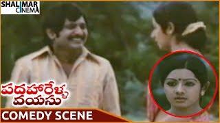 Padaharella Vayasu Movie || Chandra Mohan & Sridevi Superb Comedy Scene || Sridevi || Shalimarcinema