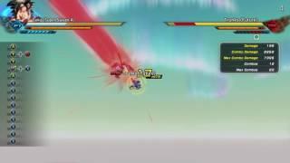 Dragon Ball Xenoverse 2 XB1 SS4 Goku combo video