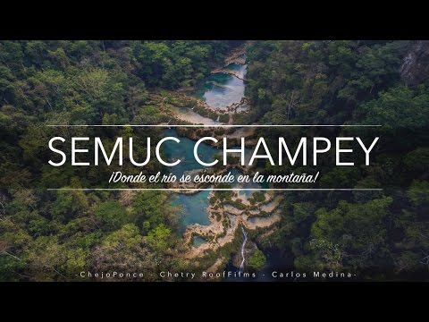 ¡Welcome to Semuc Champey!