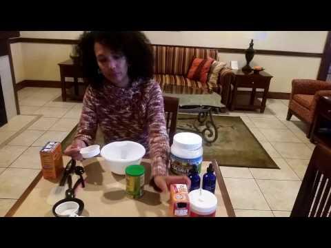 DIY Deodorant - Coconut Oil, Essential Oil, Baking Soda & Corn Starch