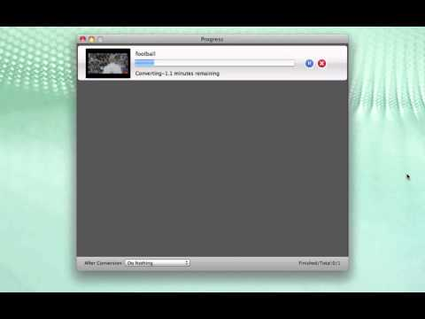 MP4 to MOV Mac - How to Convert MP4 to MOV on Mac OS X (Lion)