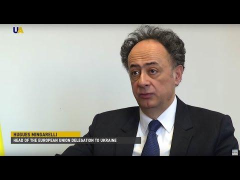 Hugues Mingarelli on Ukraine-EU Relationships in 2018