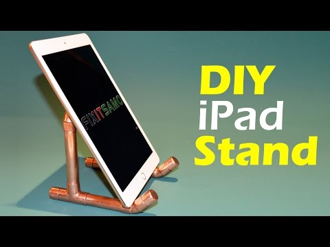 How To Make an iPad Tablet Holder - DIY iPad Tablet Stand