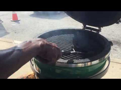 Holland Grill Demo Pt. 3 (ribs on the grill dome)