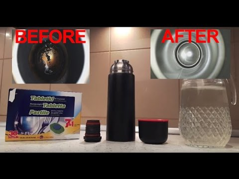 How to clean your favourite thermos INSIDE?
