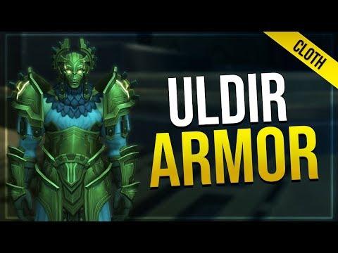 Uldir Raid Armor - Cloth   In-game Preview   LFR, Normal Heroic & Mythic Sets!