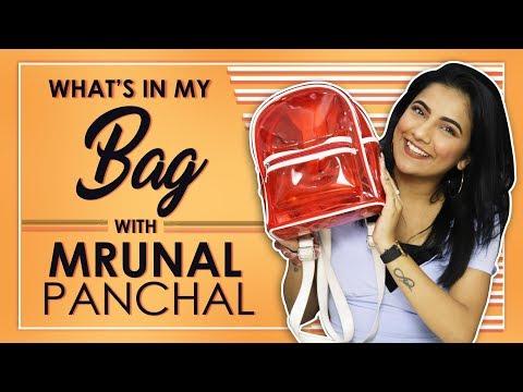 Xxx Mp4 What's In My Bag With Mrunal Panchal Aka Mrunu Bag Secrets Revealed 3gp Sex