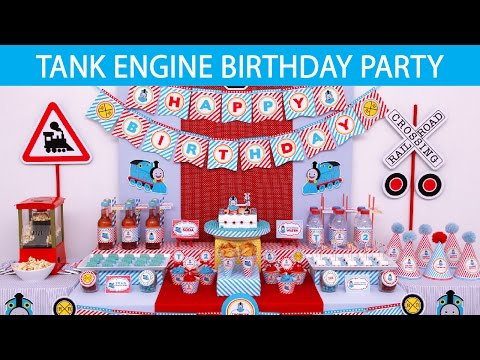 Tank Engine Birthday Party Ideas // Tank Engine - B103