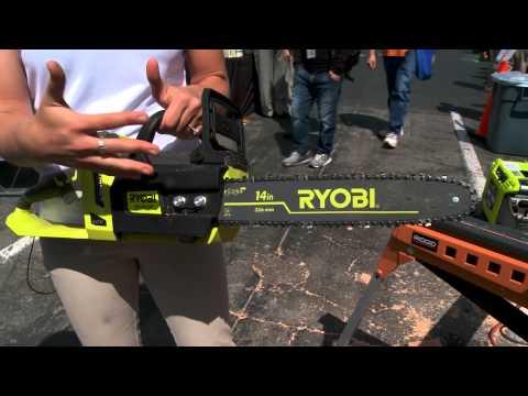 2014 Hardware Show: Ryobi Chain Saw