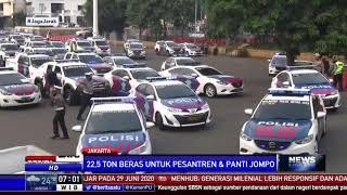 Polda Metro Jaya Salurkan Paket Beras 22,5 Ton