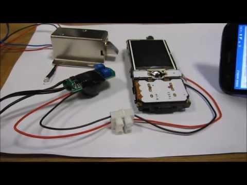 Easy DIY GSM SMS phone remote relay control lock timer door opener acces control