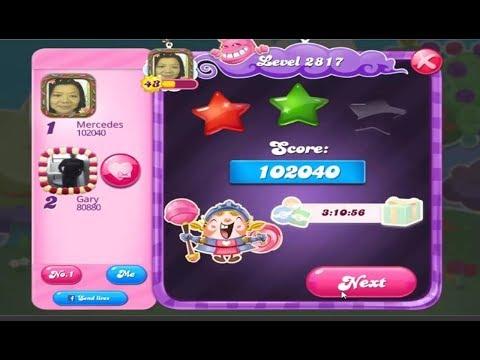 Candy Crush Saga 2817   |   Hard Level   |   2-Star ⭐⭐   |   ONE TRY