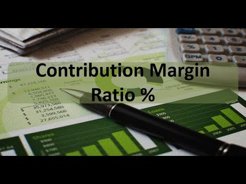 Managerial Accounting: Contribution Margin Ratio