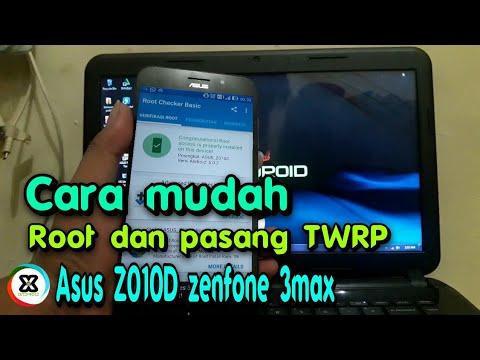 Cara mudah Root  pasang TWRP Asus Z010D /zenfone 3max
