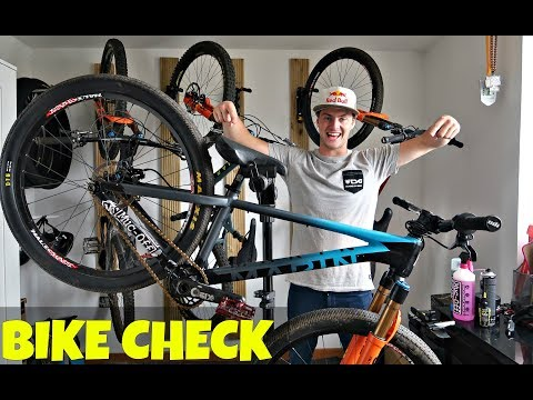 MY 2018 BIKE CHECK!!