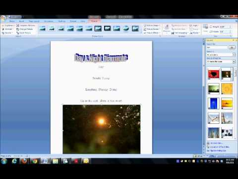 How to Format a Diamante in Word Mr. Dean's Applied Skills Class