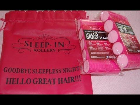 Sleep In Rollers 'Tutorial'