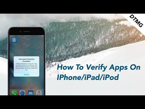 [UPDATED]How To Verify Apps On iOS