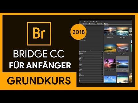 Adobe Bridge CC 2018 Grundkurs für Anfänger (Tutorial)
