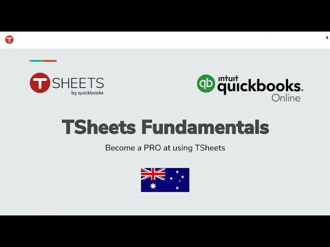 T Sheets and QuickBooks - Fundamentals