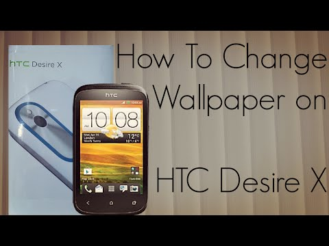 HTC Desire X - How to Change Wallpaper