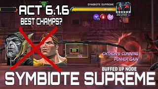Symbiote Supreme Act 6.1.6 | Marvel contest of champions