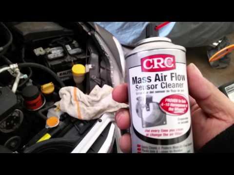 Cómo limpiar el mass air flow sensor de un 2013 subaru impreza