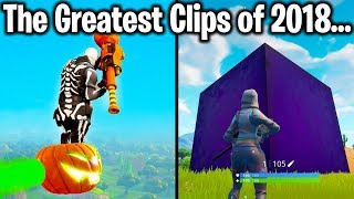 Download TOP 10 GREATEST FORTNITE CLIPS OF 2018 Video