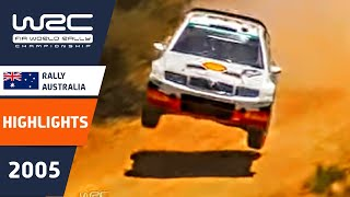 WRC Highlights: Australia 2005: 52 Minutes